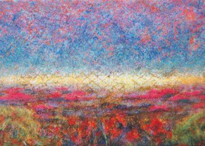 Das große Fenster, 1992, 196 x 393 cm