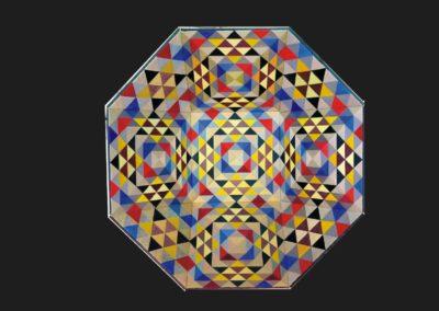 Klang der Glocke, 2014, 100 x 100 cm