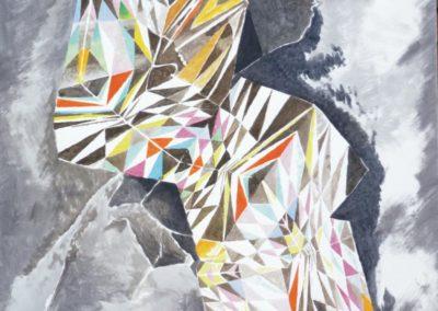 Goliath, 2013, 100 x 100 cm
