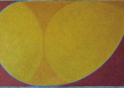 Gold, 2017, 80 x 120 cm