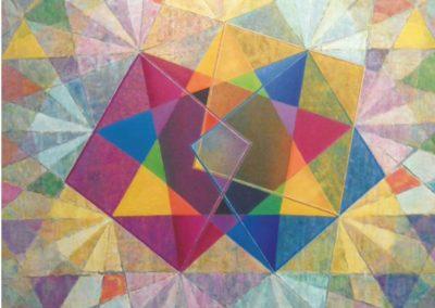 Die Antwort, 2014, 120 X 120 cm